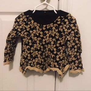Other - Girls Trendy knit peplum top 12-18 month